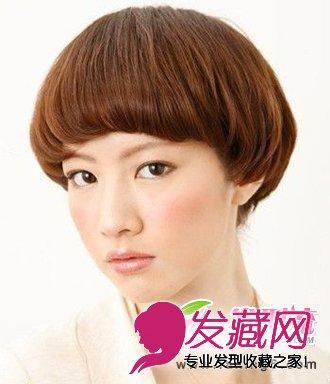 最新甜美可爱波波头发型图片(3)