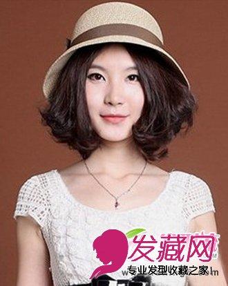 最新甜美可爱波波头发型图片(6)