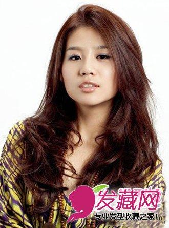 人公主般的纯真俏丽感 最新长发烫发发型(5)图片