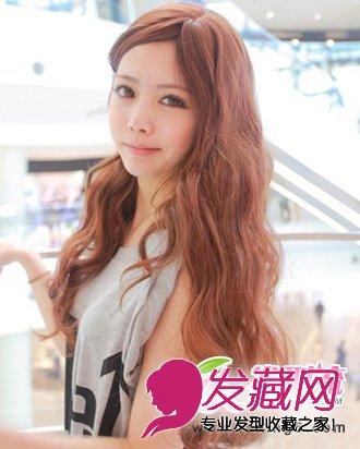 萌系减龄韩式发型 韩国嫩模道晖芝发型(3)图片