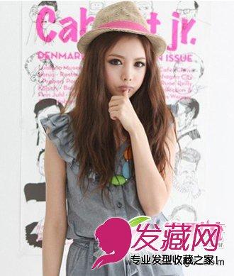 萌系减龄韩式发型 韩国嫩模道晖芝发型(4)