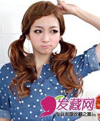 最新甜美可爱韩式发型扎法(3)