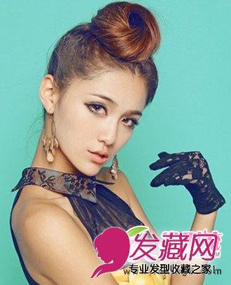 最新甜美可爱韩式发型扎法(4)