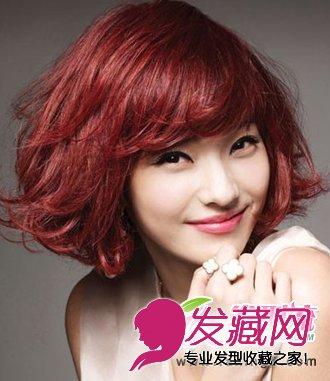 韩彩英发型 发尾微微的卷度性感妩媚 6