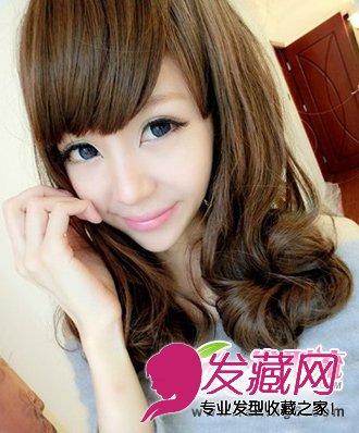 圆脸适合的发型 五款精选梨花头发型(5)图片