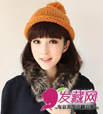 适合戴帽子的女生发型推荐(5)