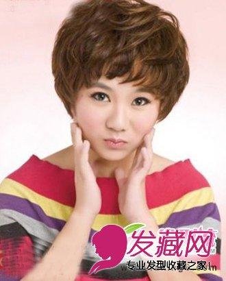 烫发发型 > 2015流行女生烫发 最新烫发发型推荐(6)  导读:短发纹理烫图片