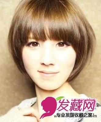 打造女生修颜知性发型ol瘦脸发型气质短发(5)天津急速瘦身训练营图片