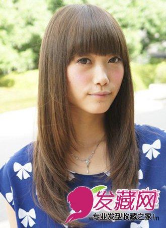 各种大脸的发型设计 适合大脸女生的发型图片