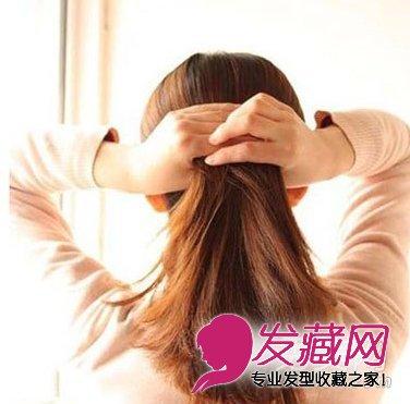 【图】韩式气质盘发 冬季让他一见倾心(2)