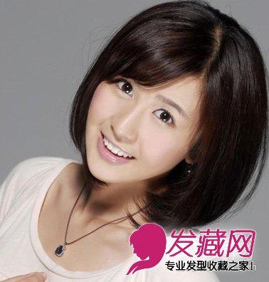 圆脸适合什么发型 微卷长发彰显 温柔甜美(3)