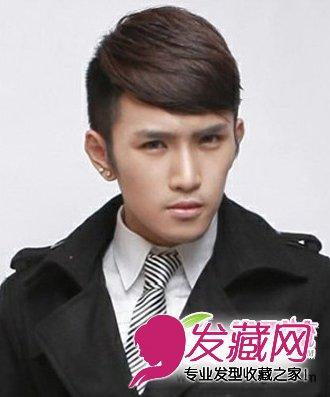 个性帅气潮男发型 流行男生短发发型(2)图片