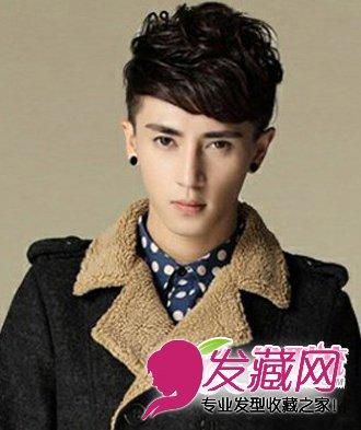 最新潮男发型 流行男生短发发型图片(6)图片