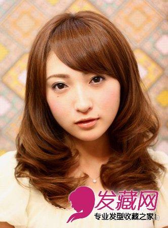 最适合圆脸的齐刘海发型(8)