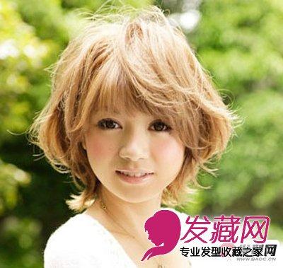 大多数年轻女孩都偏爱齐 刘海发型,还能让你看起来犹如洋娃娃般可爱.图片