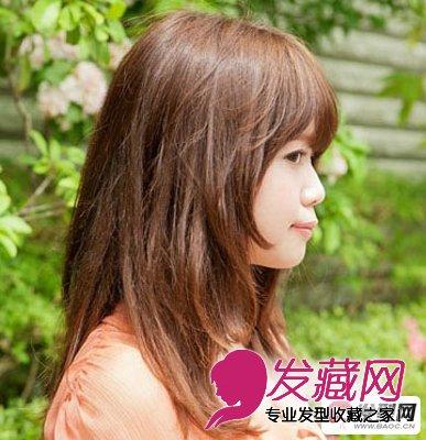 甜美乖巧女生 齐刘海发型(6)