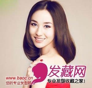 夏天直发发型图片,女生最爱的造型(2)