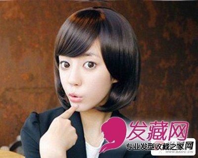 圆脸女生适合的发型设计 推荐6款减龄短发发型(5)