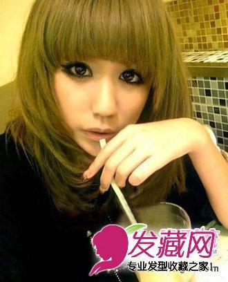 萌味十足的非主流发型 90后女生最爱(2)