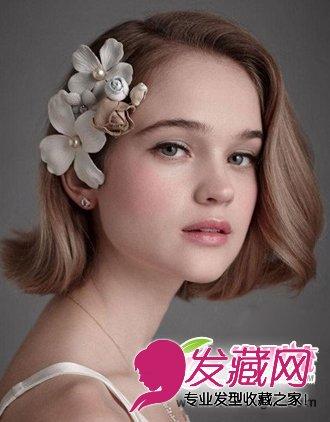 最新欧美新娘发型图片 高贵大气化身最美新娘(3)