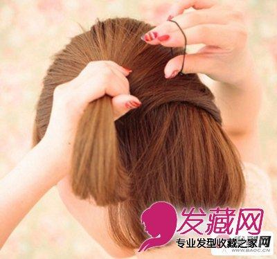 短发怎么扎好看 diy两款简单短发发型的扎法步骤