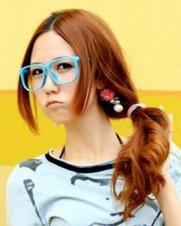 最新甜美刘海发型  时尚美眉最爱的修颜刘海