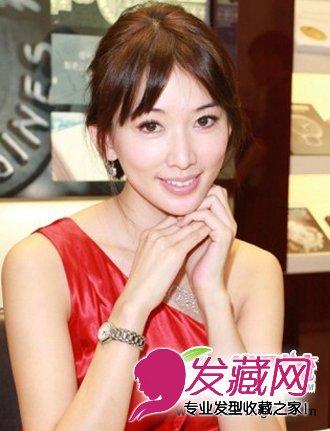 林志玲魅力减龄发型 盘点林志玲装嫩的时尚发型图片图片