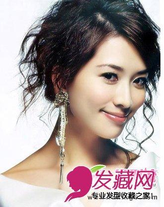 林志玲魅力减龄发型 盘点林志玲装嫩的时尚发型(4)图片