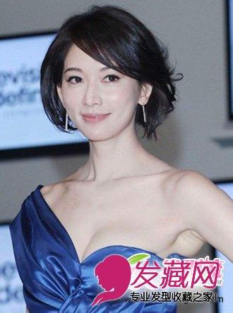 林志玲魅力减龄发型 盘点林志玲装嫩的时尚发型(5)图片