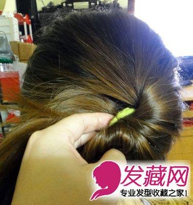 秋季里简单的盘发教程图解  秋季简单盘发步 →新娘发型什么最好看?