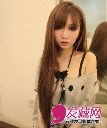 发型网 发型设计 染发颜色 > 潮系染色女生发型 染发让造型更出彩(7)