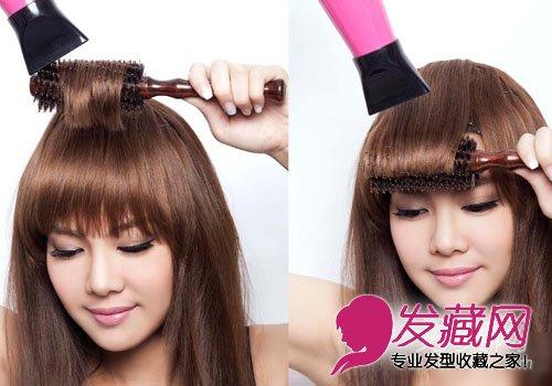 怎样自己剪刘海 diy刘海剪发教程(6)图片