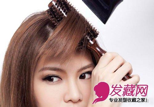 怎样自己剪刘海 diy刘海剪发教程(8)图片