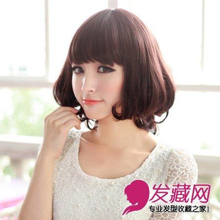 2013最新流行的中短发发型 气质女生的最爱图片