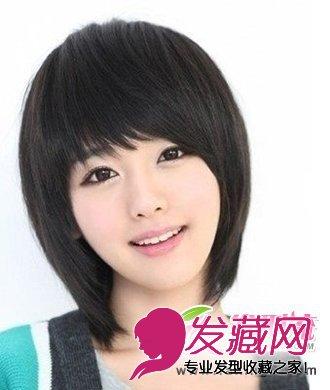 时尚甜美女生短发发型 甜美减龄的效果(3)图片