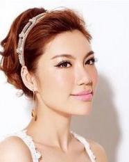 最新新娘发型图片 没有刘海新娘发型设计大全