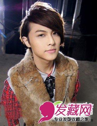 王子被曝与杨丞琳姐弟恋 青春定位烫男生发型盘点图片