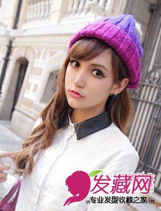 【图】最新流行戴帽子发型