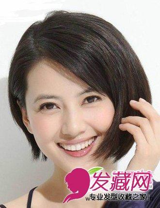 最新冬季流行短发发型图片 时尚又减龄(5)图片