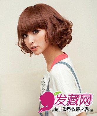 柔美个性短发梨花头 推荐五款短发梨花头发型