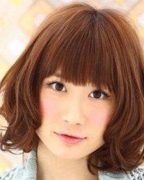 圆脸适合什么发型 新款圆脸MM适合的短发发型
