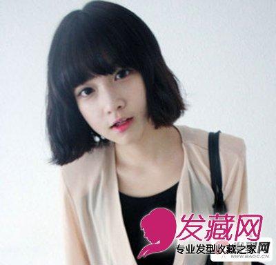 中分刘海发型 →没有刘海的你和夏季更配 无刘海发型 →最美还是空气图片