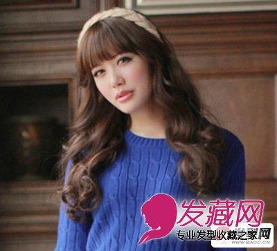 今冬流行蓬蓬大卷女生卷发发型 气质卷发最易吸引异性(4)