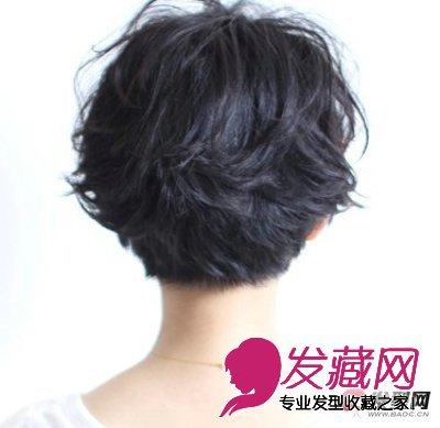短发全面改造气质女生(6)  导读:侧面看这款 短发烫发发型 后脑勺处用图片
