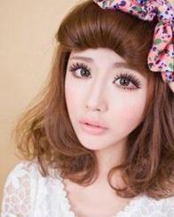 今冬流行女生发型图片 尽显甜美学院风