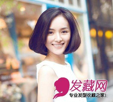 俏皮萌范的短发发型 显脸可爱的发型(3)