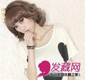 5款教程diy360°美丽 →韩国女生最爱的五款中长发流行发型大趋势图片