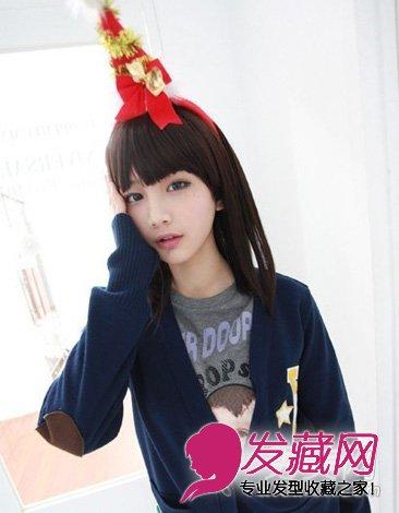 非常的清纯可爱 →最新中长发发型图片 韩式时尚齐肩发型的设 →2015