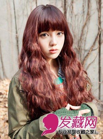 头发 颜色/2013冬季最新头发颜色多彩染发温暖冬天