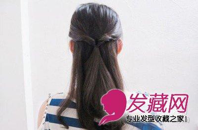 发型网 发型图片 盘发发型图片 > 简单实用的ol优雅盘发教程 展现气质